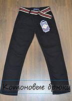 ВЕСНА 2017! Котоновые брюки для мальчиков,размеры 8-16