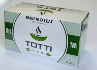 Чай пакетированный Totti Изумрудный Лист 2 г х 25 шт