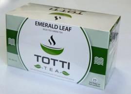 """TОТТІ Tea пакет.""""Смарагдовий лист"""" зел.  2 г х 25 шт"""