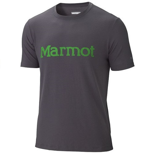 Футболка Marmot Logo Tee SS