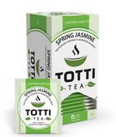 """TОТТІ Tea пакет. """"Весняний жасмин"""" зел.  2 г х 25 шт"""