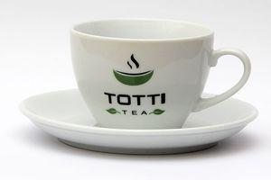 """Чашка с блюдцем ТМ """"TОТТІ Tea""""  200 мл."""