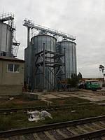 Буферные металлические силоса с встроенной вентилируемой воронкой, Александровка, Кировоградская обл.