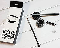 KYLIE JENNER Гелевая подводка + карандаш + кисть kylie cosmetics kyliner Kit Black