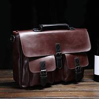 Стильный портфель-рюкзак. Размер 36-26-9