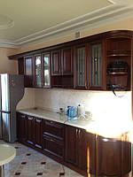 кухня классика с фасадом черешня фото 1