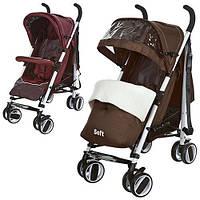 Детская коляска-трость Bambi M 3432-2 R (Бордовый) Centro