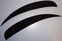 Ресницы на автомобильные фары Газель  ANV Air. Тюнинговые накладки для фар