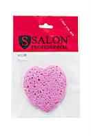 SALON - Мочалка - для умывания - сердце