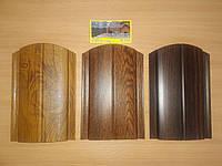 """Металевий євроштахетник, """"Під дерево"""" (метал 0,45мм, ширина13 см, довжина до 5м)"""