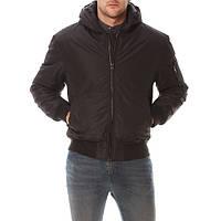 Куртка бомбер D-Struct - Nubi черного цвета мужская (чоловіча)