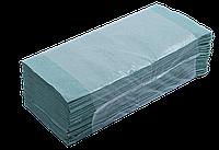 Полотенца бумажные макул. Z-подобные,160шт., BUROCLEAN зеленые