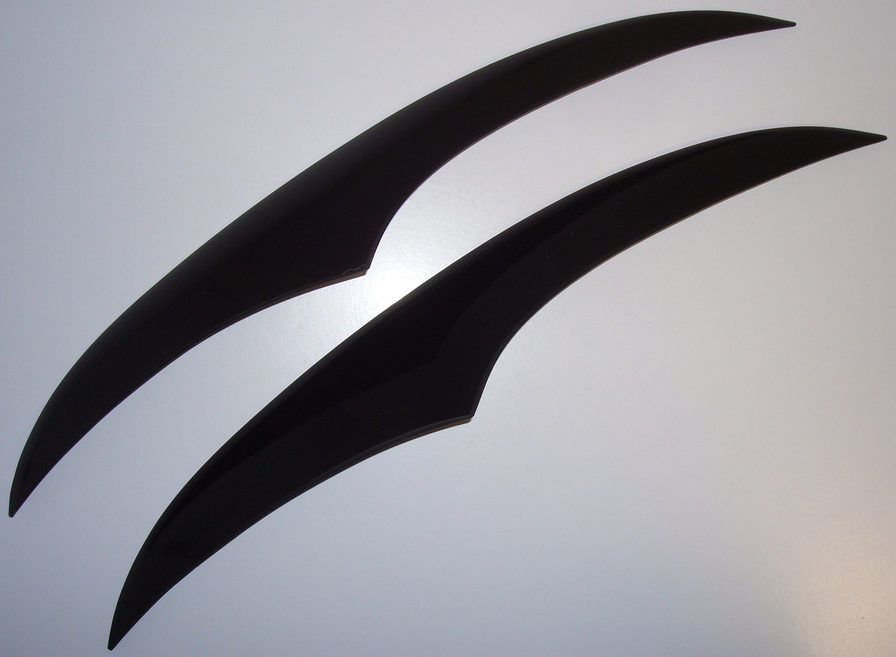 Ресницы ANV Air Daewoo Lanos Sens фигурные тюнинговые накладки на автомобильные фары Дэу Ланос