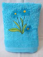 Махровое полотенце. Размер: 1,0 x 0,5