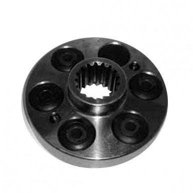 1345307C1 Муфта шлицевая привода ротора, 2166/2388