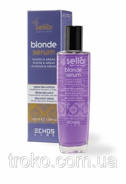 Сыворотка для светлых и окрашенных волос Echosline Seliar Blond Serum