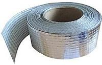 Лента клейкая алюминиевая PET Alenor, 100 мм