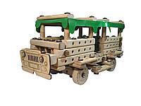Деревянный конструктор Автобус ArIn WOOD (01-100)