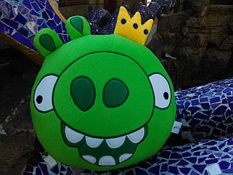 Мягкая игрушка - подушка Король свиней Энгри Бердс Angry Birds ручная работа