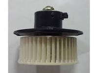 Электродвигатель отопителя FAW в сборе с крыльчаткой
