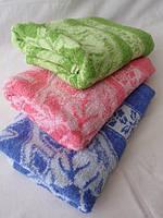 Махровое полотенце. Размер: 1,4 x 0,7