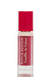 Bourjois  Rouge Edition Souffle de Velvet  Жидкая матовая помада для губ 06 Cherry Leaders 7 мл Код 8609