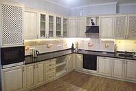 кухни из ясеня классика фото 6