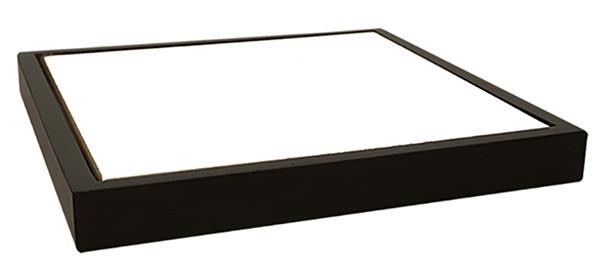 Панно в рамке из темного натурального дерева с плиткой для сублимации ( 15*15 см)
