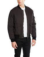 Куртка бомбер Bellfield - Blimp черного цвета мужская (чоловіча)
