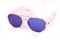 Солнцезащитные женские очки  с цветной линзой