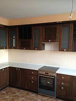 современная кухня с фасадом из дуба фото 9