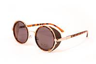 Женские очки круглой формы