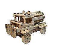 Деревянный конструктор Молоковоз ArIn WOOD (01-106)