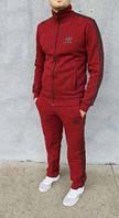 Cпортивный костюм Adidas для подростков! Размеры 40, 42, 44, 46, 48! Бордовый