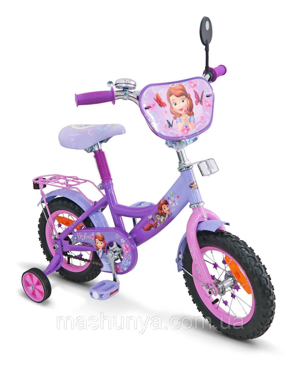 Велосипед дитячий двоколісний Disney Софія 12 дюймів