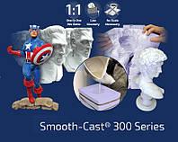 Полиуретан ярко-белый Smooth-Cast® 300 жидкий, прочный Смуз Каст 300 (комплект 0,45 кг), фото 1