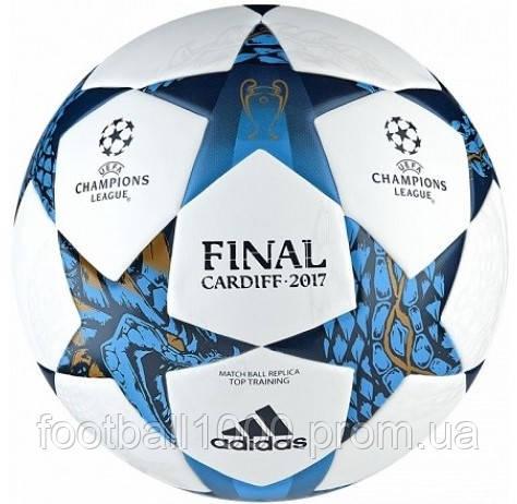 Футбольный мяч Adidas Finale Cardiff 17 Top Training AZ9609 - ГООООЛ›  спортивная и футбольная экипировка 9d8a287ffa55b