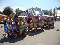 Бензиновый детский прогулочный паровозик экономичный, фото 1