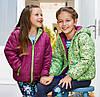 Дитяча двохстороння демісезонна курточка NKD для дівчинки 6-8 років