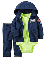 Боди + Штаны + Куртка Carters. 9 мес 67-72 см. Спортивный костюм из 3-х частей