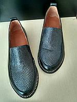 Женские Красивейшие туфли лоферы ,натуральная кожа,стразы!