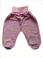 Евроползунки утеплённые для новорожденных розовые ЕПНР
