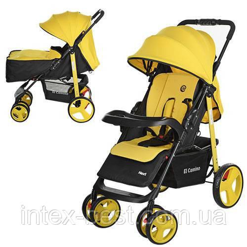 Детская прогулочная коляска Next M 3444-6 ( Желтая) NEXT