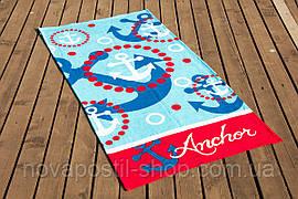 Пляжное полотенце LOTUS ANCHOR