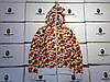 Мужская Худи Bape  shark hoodie  Camo пицца