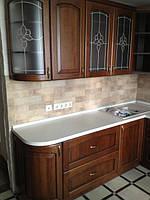 кухня классика темный дуб фото 16