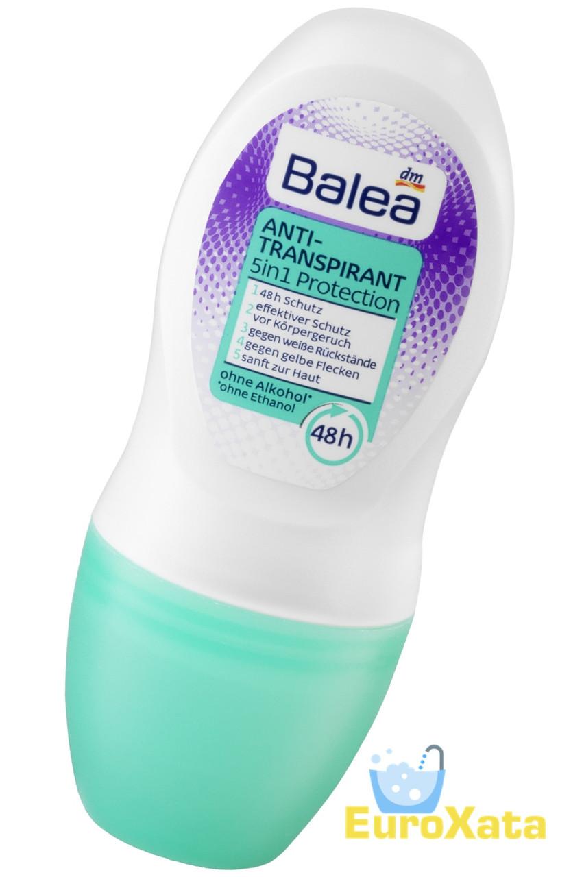 Дезодорант шариковый BALEA Deo Roll-on 5in1 Protection (50мл)