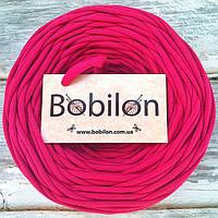 Ленточная пряжа Бобилон, цвет фуксия
