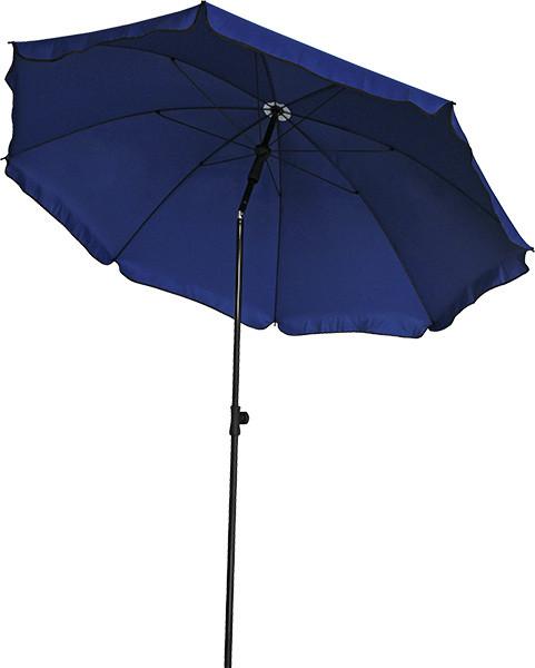 Зонт Садовый ТЕ-003-240 Синий Диаметр 2,4 метра (Time Eco TM)