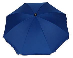 Зонт Садовый ТЕ-003-240 Синий Диаметр 2,4 метра (Time Eco TM), фото 2